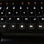 Logicool k740はイルミネーションキーボードで使いやすい