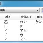 漢字の読み方がわからない時はIMEパッドで