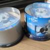 TDKの録画用ブルーレイディスクは2枚焼いたが失敗なし