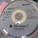 Windows7のインストール方法